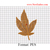 Marijuana Cannabis Leaf Embroidery Design, Cannabis leaves embroidery pattern,