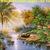 Beautiful Paradise Cross Stitch Pattern***LOOK***