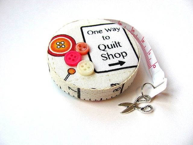 Measuring Tape Quilting Phrases Retractable Tape Measure