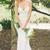 Sexy Backless Lace Mermaid Wedding Dresses Spaghetti Strap V Neck Wedding Dress