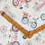 Vintage Bicycle digitally printed craft fabric - half meter- 59in wide - 100%