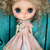 MIDDIE Blythe doll OOAK dress- *Sweetness* Kitty outfit