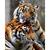 Tigers couple Diamond Painting DIY kit Canvas Painting Wall Art Mosaic Painting