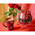 Raspberry and coffee Diamond Painting DIY kit Canvas Painting Wall Art Mosaic