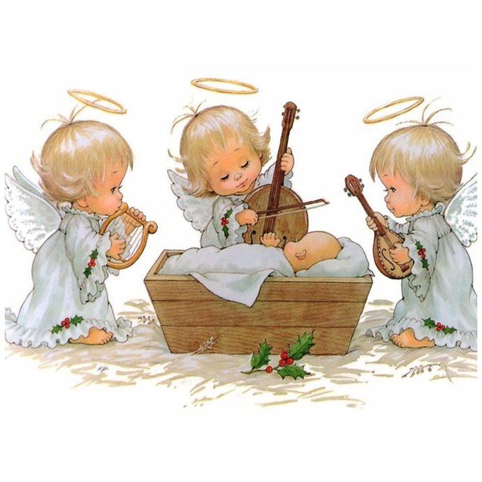 Baby angels Diamond Painting DIY kit Canvas Painting Wall Art Mosaic Painting