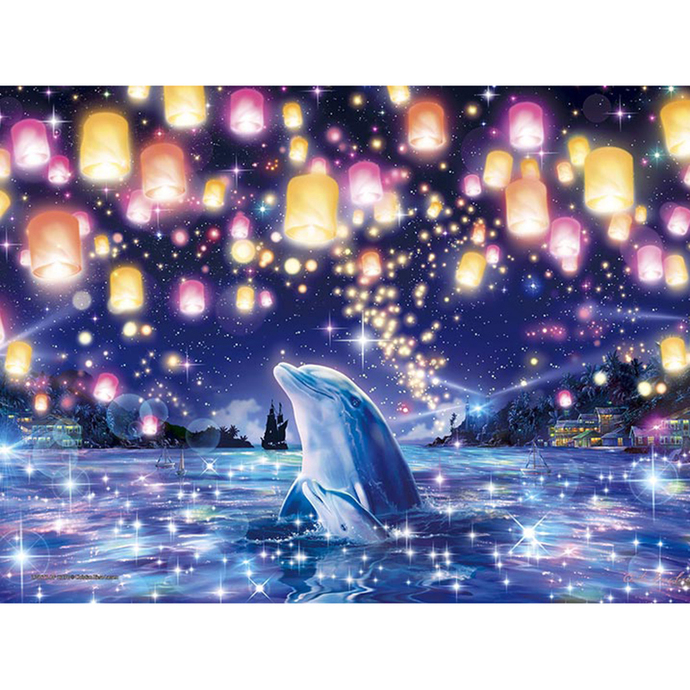 Dolphin in the sea Diamond Painting DIY kit Canvas Painting Wall Art Mosaic