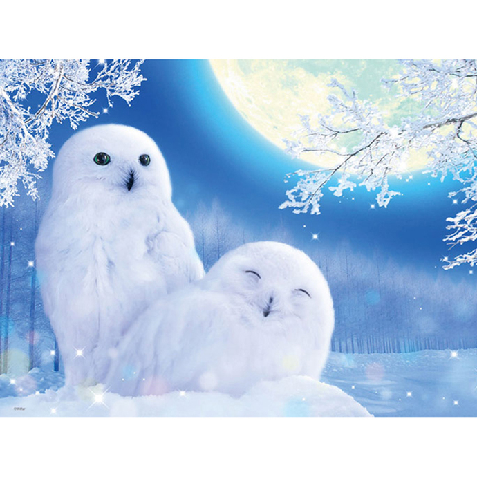Snowy owl Diamond Painting DIY kit Canvas Painting Wall Art Mosaic Painting