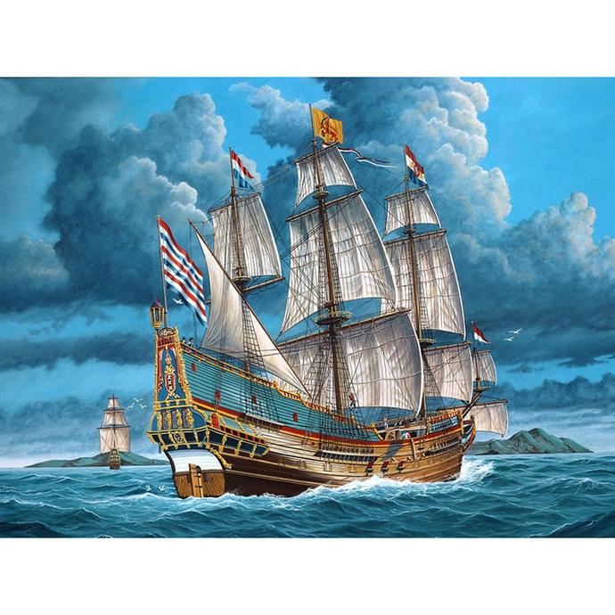 Ship in the sea Diamond Painting DIY kit Canvas Painting Wall Art Mosaic