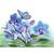 Blue flowers Diamond Painting DIY kit Canvas Painting Wall Art Mosaic Painting