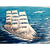 Ship in the sea Diamond Painting DIY kit Canvas Painting Wall Art Mosaic
