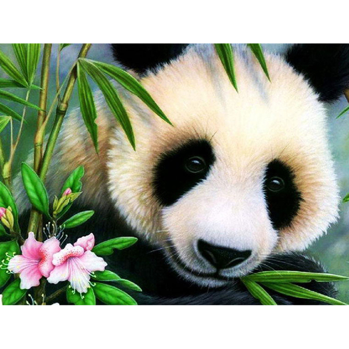 Panda bear Diamond Painting DIY kit Canvas Painting Wall Art Mosaic Painting