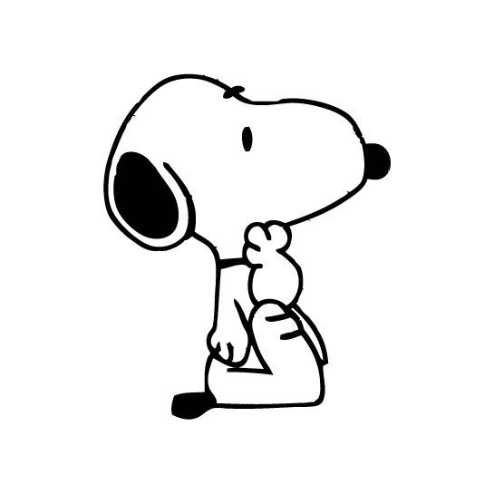 Snoopy 03 graphics design SVG DXF EPS Png Cdr Ai Pdf Vector Art Clipart instant