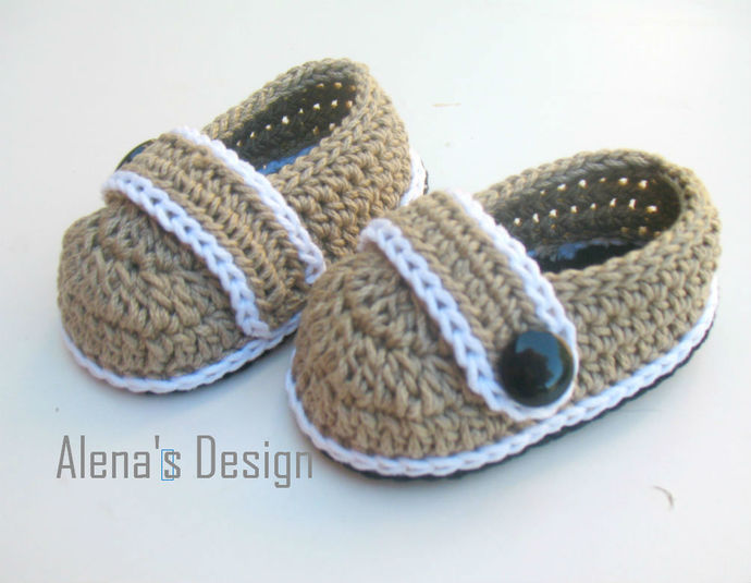 3339ced3c Crochet Pattern 209 Crochet Baby Shoes Crochet Patterns Brain Baby Shoes  Newborn
