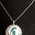 Michigan state necklace