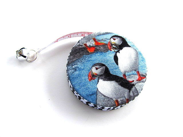 Copy of Tape Measure Realistic Puffins Retractable Tape Measure
