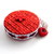 Tape Measure Red Knitting Stitches Retractable Pocket Measuring Tape