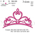 Crowns Set Embroidery Design. Crowns pack 10 designs. Tiara embroidery. Princess