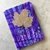 Mini Writing Journal for Pocket or Purse - Purple Haze