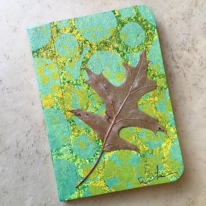 Quercus  - Mini Writing Journal