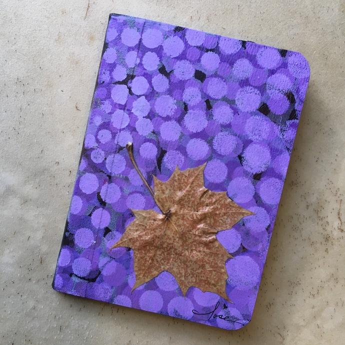 """Nature Inspired Pocket Journal, """"Maple"""""""