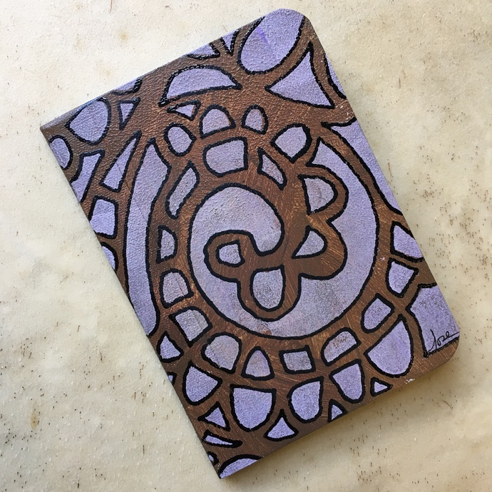 Fanciful - One of a Kind Mini Writing Journal