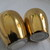 Cologne souvenir salt and pepper shakers / Koeln a. Rhein gold trimmed salt