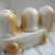 Mother Dachshund and Puppies Salt and Pepper Shaker Set / Vintage dog and