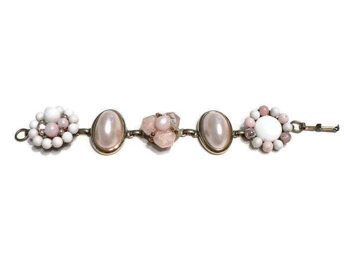 Pink Vintage Earring Bracelet