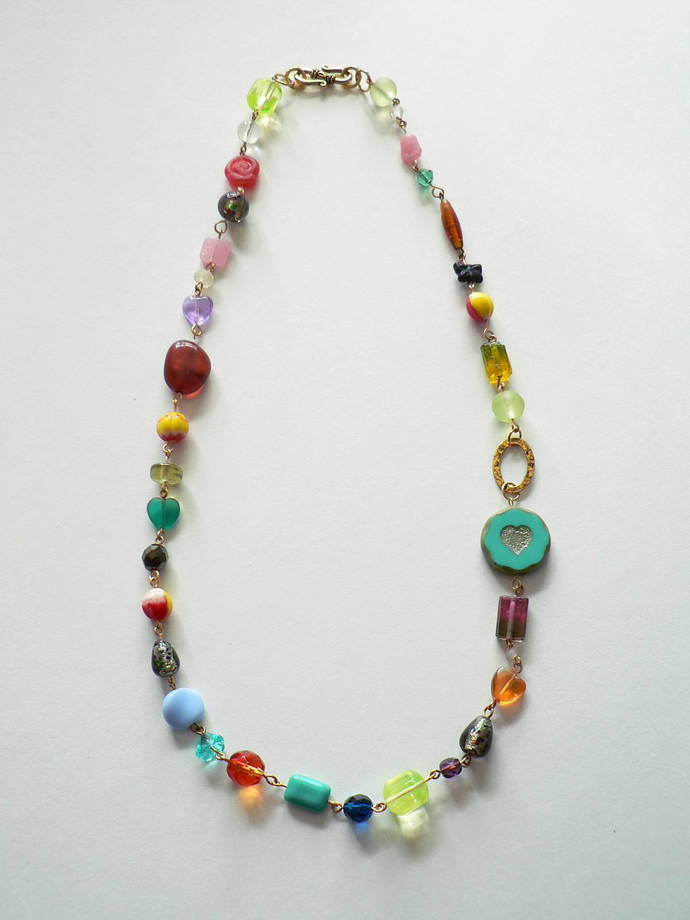 End of the Day Beaded Necklace