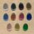 11 Catseye pendants