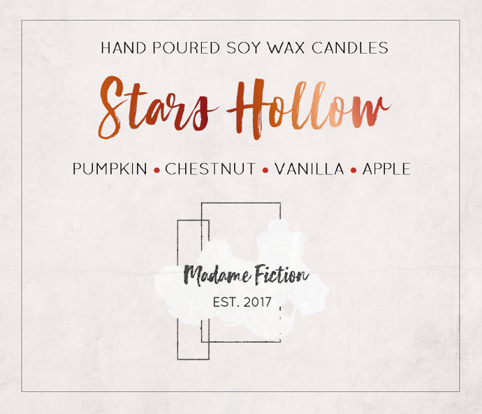 Stars Hollow - 1.5oz Candle - Gilmore Girls - Scented Soy Candle - Book Lover