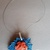 Handmade necklace (material for pendant: polymer clay - product 235/2018)