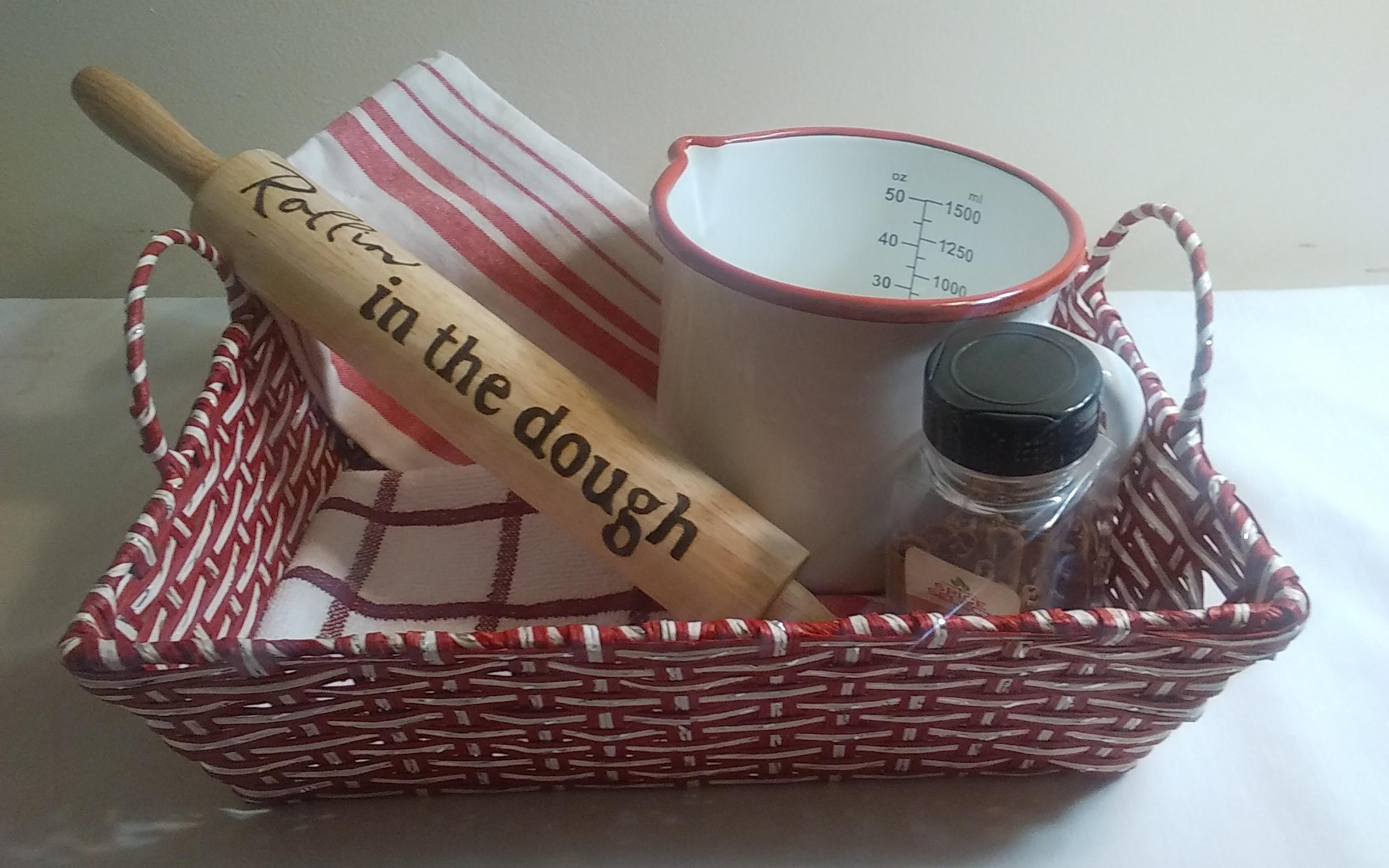 & Bakers Gift Basket by GL Treasures on Zibbet