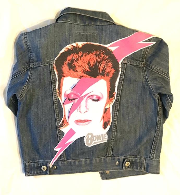 Kids Bowie Denim Jacket-size 6/7
