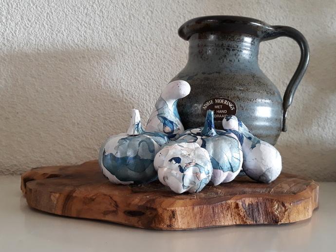 Handthrown jug by Dutch artist Adrie Moerings (1939-2010)