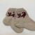 Baby grey socks, Children's knitted socks, children's socks, winter socks,