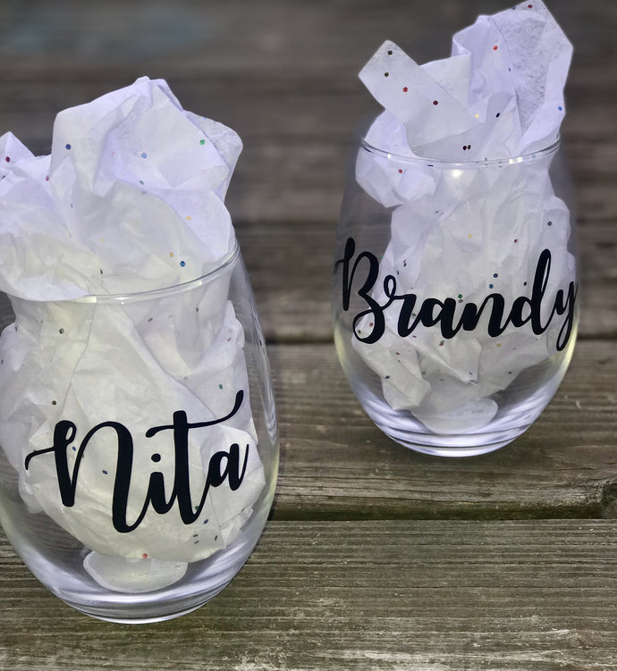 Vinyl Name Decal - DIY Name Decal - Name Sticker - Name Decals Only / Name Cut