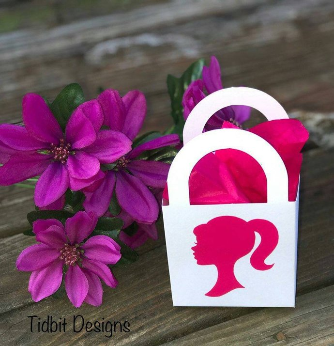 """Set of 10 2"""" Barbie Silhouette Stickers / D.I.Y Stickers / Vinyl Decals"""