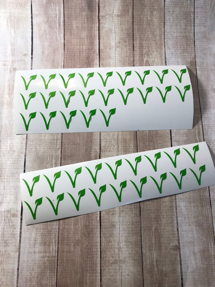 Set of 150 Meal Choice Stickers  Escort / Place Card Options / Meal Option