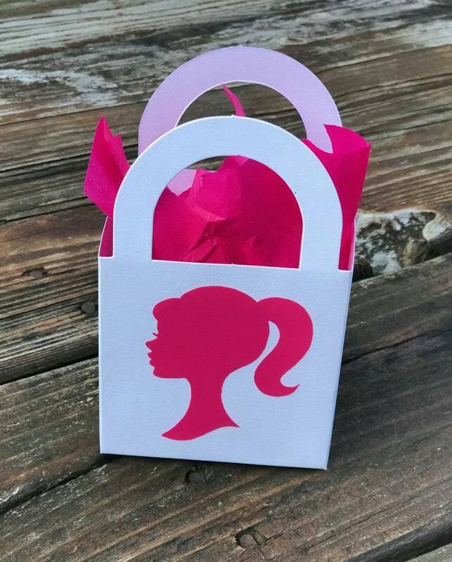 Barbie Silhouette Stickers / D.I.Y Stickers / Vinyl Decals