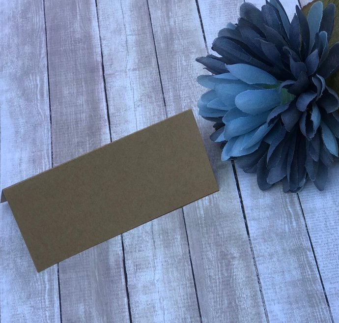 Blank Place Cards / Escort Cards - Wedding / Special Event Table Cards