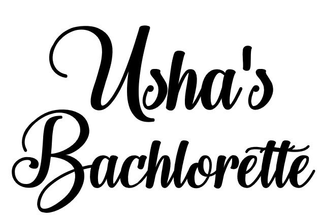 Personalized 2 Line Decals  Wedding Date / Bachelorette / Shower /Party,