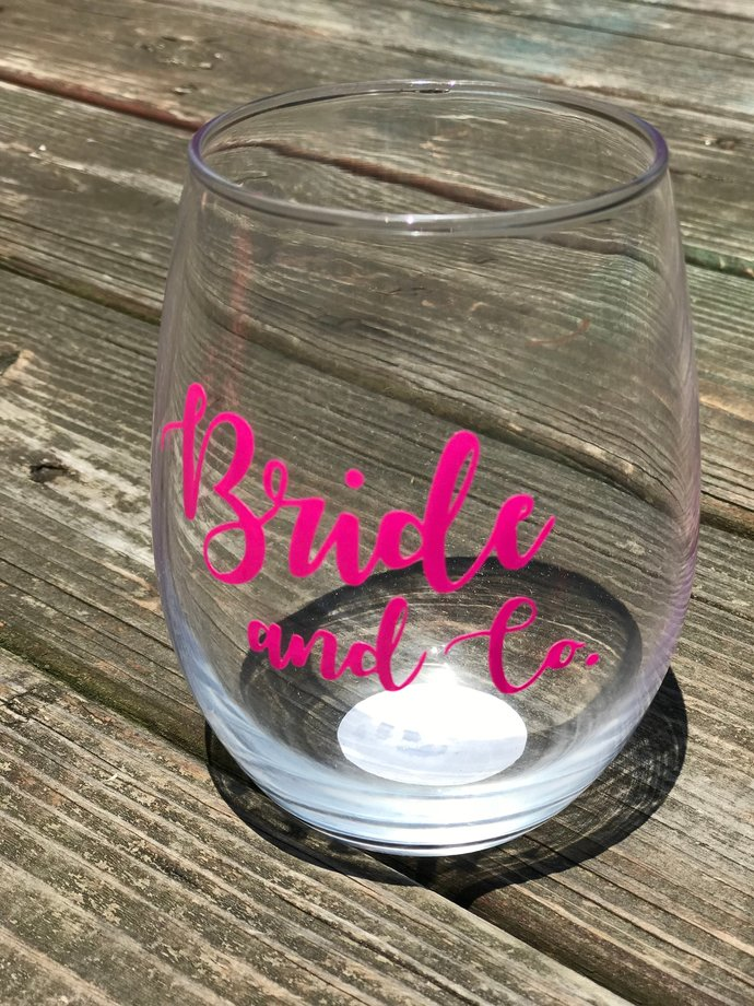 D.I.Y Vinyl Wine Glass Decal or Shot Glass Decals / Decals / Stickers /