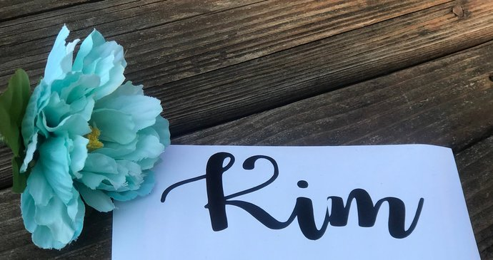 3.5 in Vinyl Name Decal - DIY Name Decal - Name Sticker / Decal