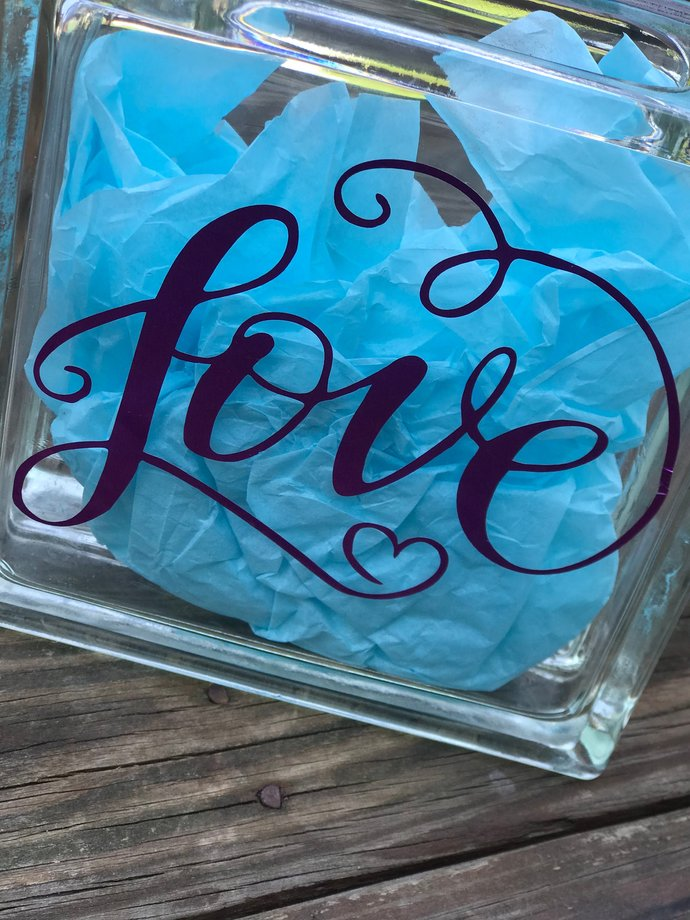 Romantic Love Decal / Sticker - Wedding Sticker / Favor