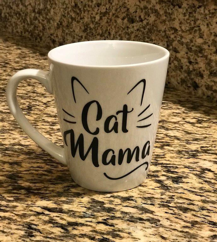 Cat Mama Coffee  Mug - 14oz