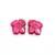 Pink Tourmaline Nicely Carved Mirroe Image Leaf Flawless Pair Loose Gemstone