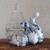 A proud pear. Cut glass trinkets box.