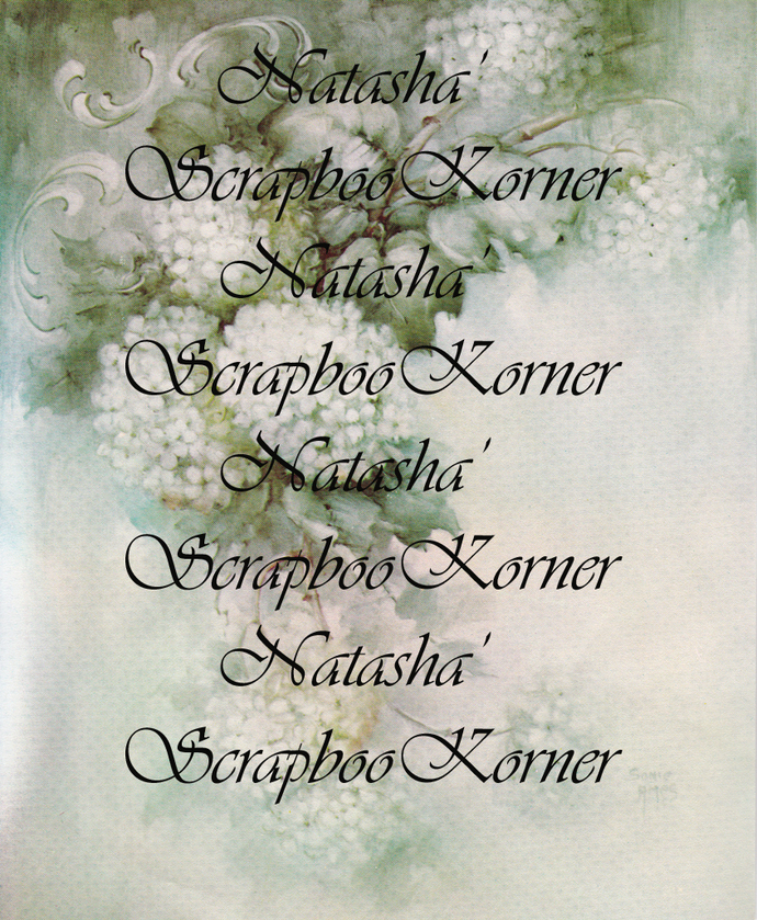 Victorian Floral Background Digital Printable image