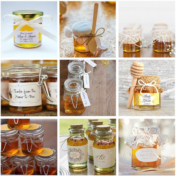 Honey Favors Honey Wedding Favors By Sweetgreekalchemies On Zibbet